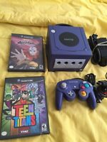 Nintendo Game Cube complet + 2 jeux 70$ wow