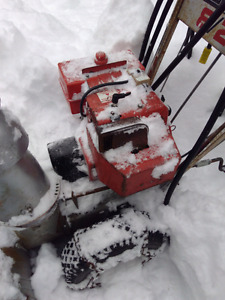 For Sale two Snowblowers