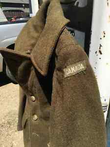 WWII Military Wool Coat & Knife Regina Regina Area image 2