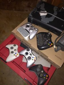 Xbox 360 with games and controllers  Strathcona County Edmonton Area image 2