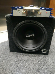 Subwoofer amp combo