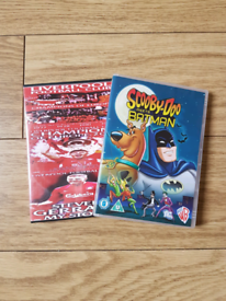 Liverpool Football Club DVD. Scooby Doo meets Batman