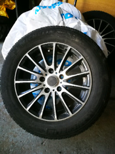Sport Mags w/ Michelin X-Ice Tires 195/65R15
