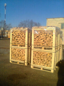 Great Bargain split firewood crated dry hardwood $279 401-7346