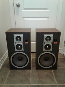SONY SS C40 STEREO SPEAKERS AS IS