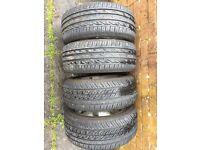 Free 15 inch alloys with 195/50/15 Bridgestone Tyres