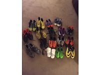 Football boots. Adidas & Nike various sizes
