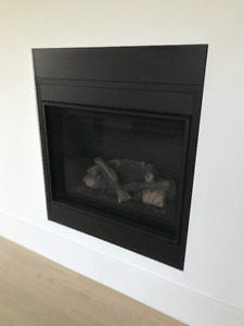 New Montigo gas fireplace insert