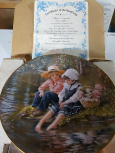 Collector Plates by Sandra Kuck (Days Gone By)