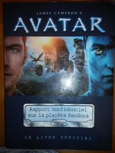 Livre Officiel d'Avatar de James Cameron