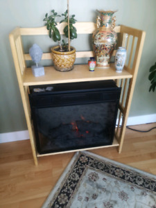 Moving sale! Electric fireplace with heater