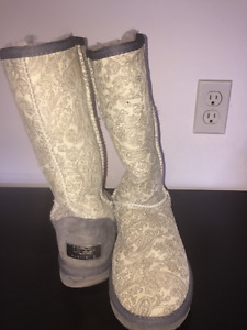 Ugg Boots tall design pattern
