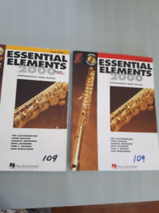 Essential Elements 2000 Flute Inst. Books with CD, Flute extra.