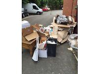 Junk rubbish waste removed cheaper than skip
