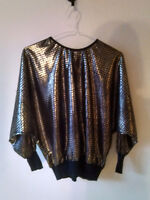 Top gold vintage small
