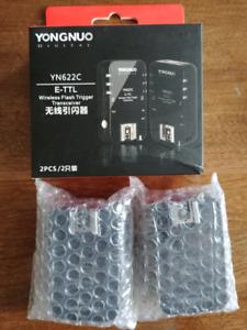 YONGNUO YN622 C émetteur-récepteur Flash canon