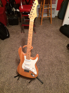 Electric Wooden Guitar