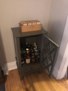 Cabinet for storage (ie: liquor or china)