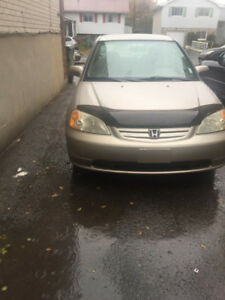 2001 Honda Civic in good condition for sale