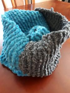 Foulard tricoté unique