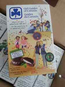 Mint Chocolate Girl Guide Cookies for sale