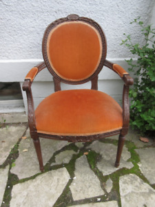 Attractive Antique Bergere Chair c1930
