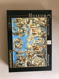 Beautiful 1000 piece jigsaw PRICE NEGOTIABLE.