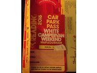 Weekend Reading Festival campervan ticket