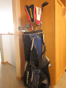 Left-Handed Harlequin Clubs and Bag