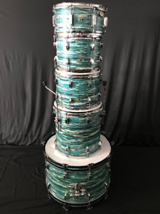 LUDWIG BLUE OYSTER DRUM KIT