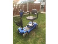 MONARCH MINI 4 WITH BRAND NEW BATTERIES CAR BOOT MOBILITY SCOOTER