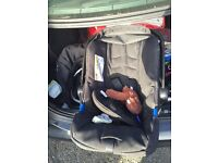 Mother care car seat 0-1 yr