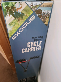 Exodus tow bar mount cycle carrier