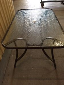 Patio Table Glass Top