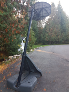Basketball net and stand for sale