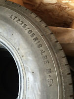LT 235/85r/16 SET OF 4 TIRES LOAD RANGE E ALL SEASON!!!