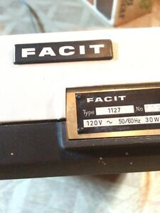 Vintage Facit adding machine #1127 Oakville / Halton Region Toronto (GTA) image 4