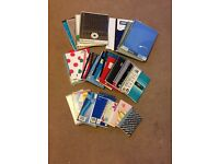 notebooks - various sizes