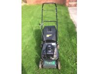 Trojan 16 petrol lawnmower with Biggs & Stratton Engine