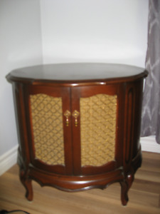 Solid wood antique end tables