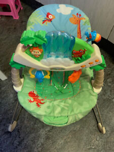 Fisher Price - Rainforest - Bouncy Seat