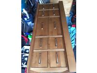 Coffee/table /Storage Unit. Solid. Maple hardwood / hand made. Next