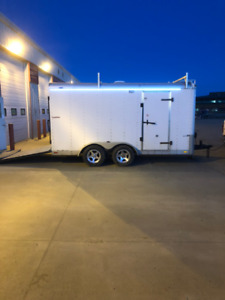 Cargomate 7x14 Heavy Duty Enclosed Trailer - with upgrades!