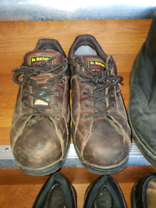 Dr Martin's Steel toe work boots size 9US