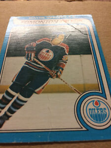 Creased Authentic Gretzky Rookie