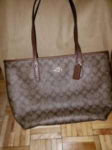 Brand new coach tote bag