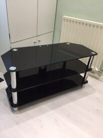 Glass Tv Stand- good condition