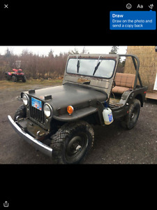 1945 willy,s jeep for sale