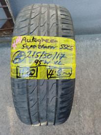 215 /50/17 autogreen tyre 4.8mm Bristol area