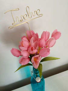Personalized Wedding Hangers, Cake Toppers, and Table Numbers St. John's Newfoundland image 3